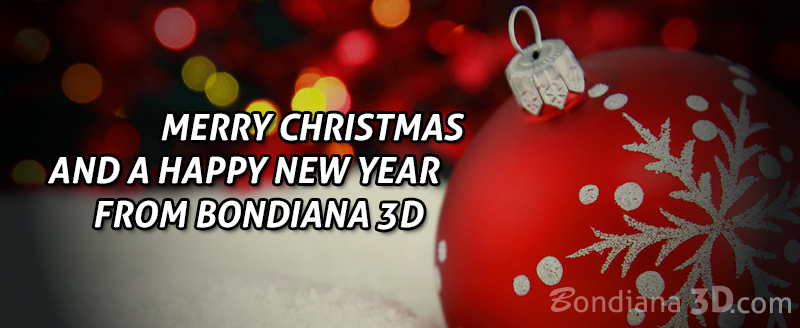 happy new year from bondiana3d.com